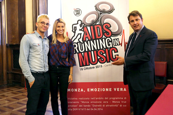 Aids Running in Music 2015